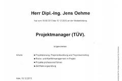 TÜV Rheinland Projektmanager